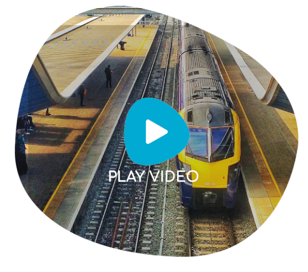 high speed rail video