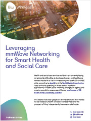 Leveraging mmWave Networking for Smart Health and Social Care