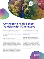 Connecting High Speed Vehicles with 5G mmWave